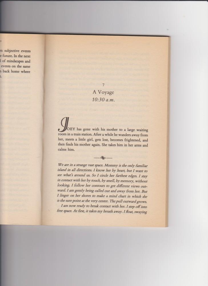 Traduzione EN > IT, Un frammento dal libro di Dr. Daniel N. Stern DIARY OF A BABY (2/4)