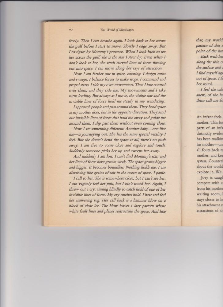 Traduzione EN > IT, Un frammento dal libro di Dr. Daniel N. Stern DIARY OF A BABY (3/4)
